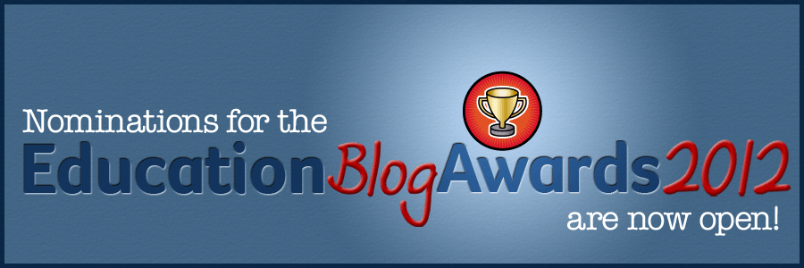 Education Blog Awards 2012