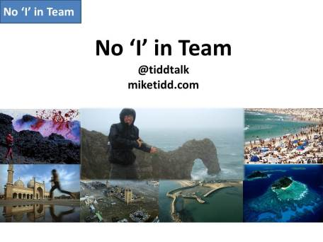 No 'i' in Team